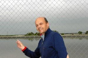 Pedro Tejada, presidente de la Comunidad de Regantes del Chanzas y el Piedras.