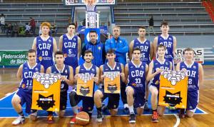 El Ciudad de Huelva conquistó el título provincial junior de baloncesto.