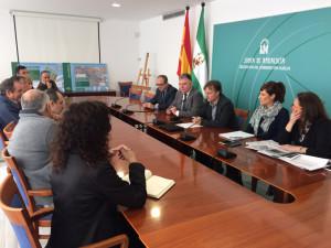 Presentación del proyecto de aguas residuales de la Cuenca Minera.