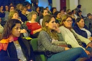 Un momento del Encuentro celebrado del Día de la Mujer en la Eurociudad del Guadiana.
