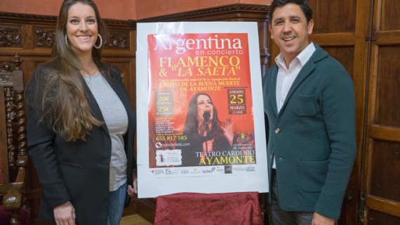 Argentina ofrecerá un concierto en el Teatro Cardenio de Ayamonte