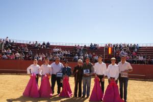 Se homenajeó a Javier Buendía.