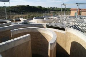 Instalaciones de tratamiento de aguas de Giahsa.
