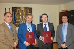 La Universidad de Huelva y la compañía Impala Terminals afianzan sus relaciones.