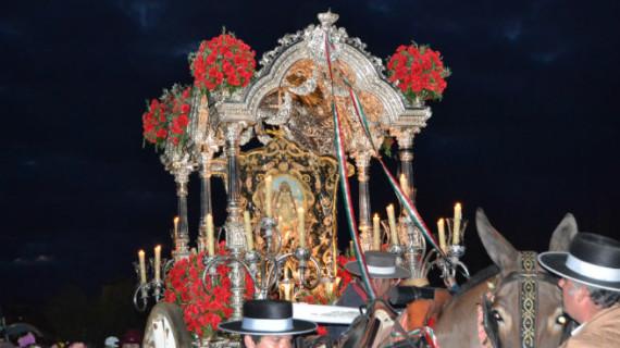 Lucena del Puerto celebra los 75 años de su hermandad rociera