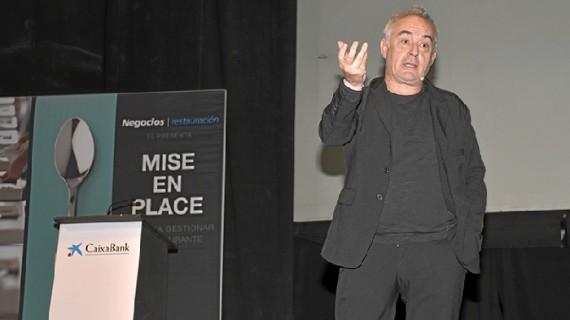 Ferran Adriá congrega a más de 800 emprendedores del sector de la restauración en la Casa Colón de Huelva