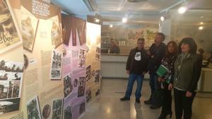 Exposición de Zidro en la Biblioteca de Huelva.
