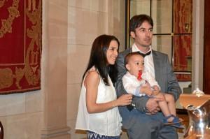 El onubense, tras recibir el Premio Jóvenes Investigadores de la Real Academia Sevillana de Ciencias y la Real Maestranza de Caballería de Sevilla.