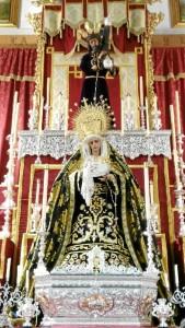 Imagen de María Santísima de los Dolores.