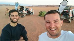 Han recorrido 1.500 kilómetros en seis jornadas.
