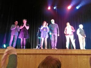 Una imagen de la actuación.