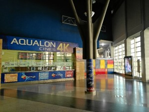 Taquillas Cines Aqualon 4K.