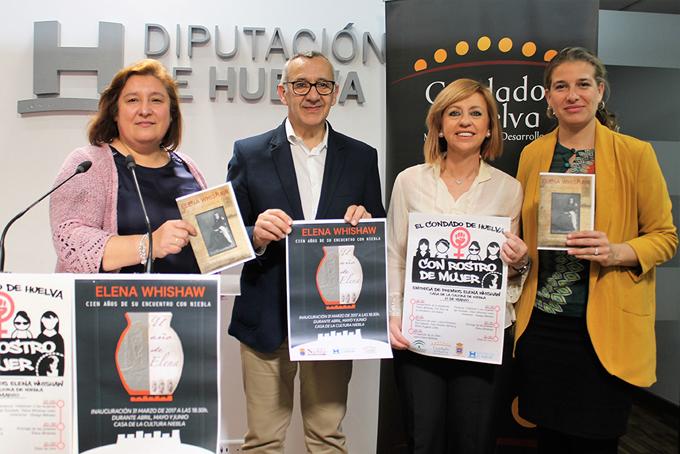 Condado de Huelva entrega los Premios Elena Whishaw para visibilizar a las mujeres de la comarca