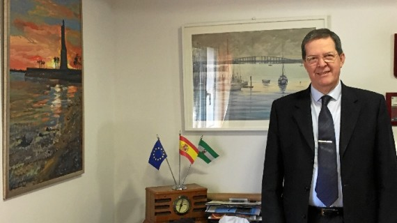 """Alfonso Rubio: """"Trabajar en el Parador de Mazagón, en pleno Doñana, es un privilegio porque hacemos feliz a la gente"""""""