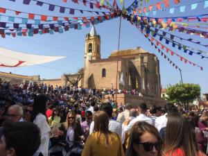 Miles de personas están visitando la Feria Medieval de Palos.