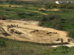 El yacimiento arqueológico ha podido visitarse.