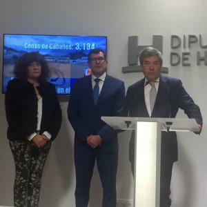 Intervención del presidente de Ovipor en la rueda de prensa.
