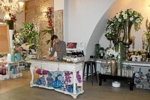 Interior de la boutique.