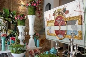 Escaparate dedicado a la Semana Santa onubense 2017