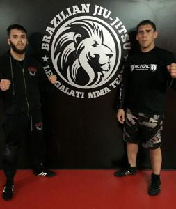 Camilo Gómez y Leonardo Galati tratarán de hacer un buen papel en el Campeonato. / Foto: @luchaelcampeon.