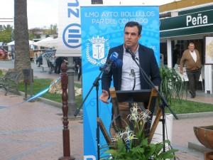 Intervención de Rubén Rodríguez, alcalde de Bollullos.