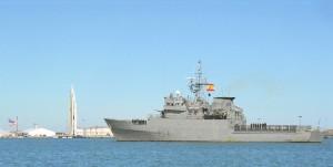 El patrullero 'Atalaya' hará escala en el puerto de Huelva este viernes 16 de marzo.