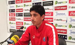 Juan Manuel Pavón, entrenador del Recreativo de Huelva. / Foto: www.recreativohuelva.com.