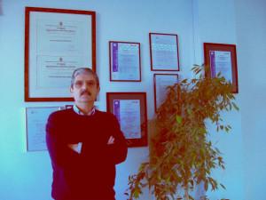 Fernando Javier González, presidente de la Comunidad de Regantes Sur- Andévalo.