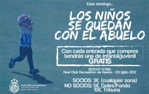 Cartel de la campaña del Recre para el partido del domingo. / Foto: @recreoficial.