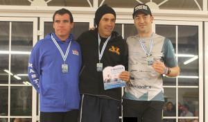En la prueba larga, la de 3.000 metros, Rubén fue tercero en su categoría.