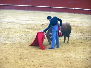López Simón, tres pinchazos y estocada, dos orejas.
