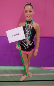 La Infantil Absoluta Siomara Fernández estrenó el podio en Armilla con una medalla de bronce.