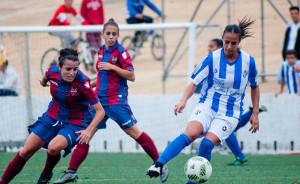 Empate a un gol en el partido de la primera vuelta en Huelva.
