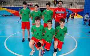 Equipo Infantil del CV San Bartolomé, brillante campeón provincial.