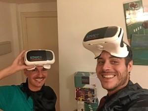 HeroMask de EducaInventions es el primer juguete basado en un videojuego para aprender idiomas en realidad virtual.