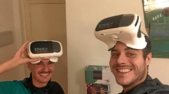 Un joven emprendedor de Aracena idea un juguete pionero para aprender idiomas en realidad virtual
