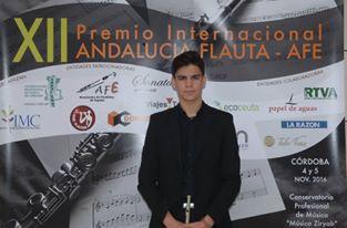 El riotinteño Alejandro Manito Domínguez, un joven talento de la Orquesta Sinfónica de Madrid
