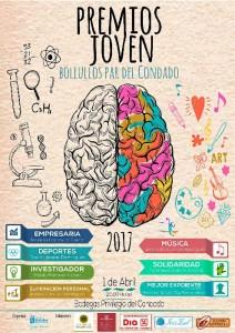 Cartel Premios Joven 2017.