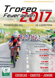 Cartel de la prueba ciclista que tendrá lugar en Bollullos.