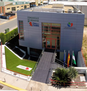 Sede de la Comunidad de Regantes de Palos de la Frontera.