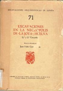 Una de las publicaciones realizadas por Juan Pedro Garrido de La Joya. / Foto: biblioteca uhu.