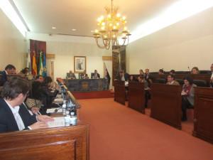 Pleno de la Diputación Provincial de Huelva.