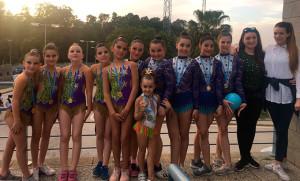 Representantes del GR Huelva en el Torneo de Conil.