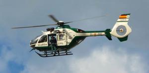 Un helicóptero de la Guardia Civil.