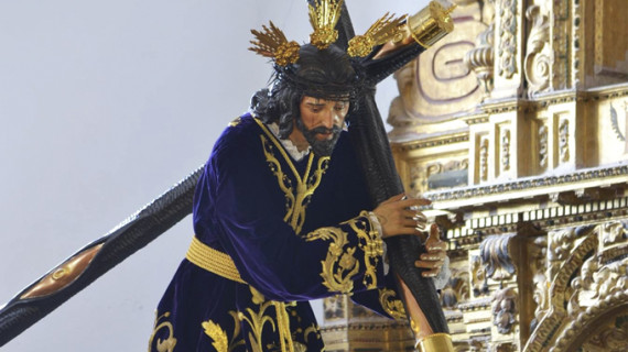 La ONCE elige la imagen del Nazareno de Escacena para ilustrar el cupón del 6 de abril