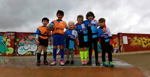 Componentes del equipo onubense que estuvo en el torneo celebrado en Sevilla.