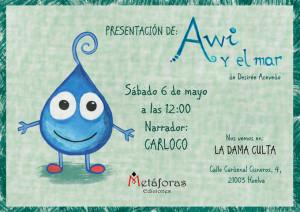 El día 6 de mayo se presenta en La Dama Culta.