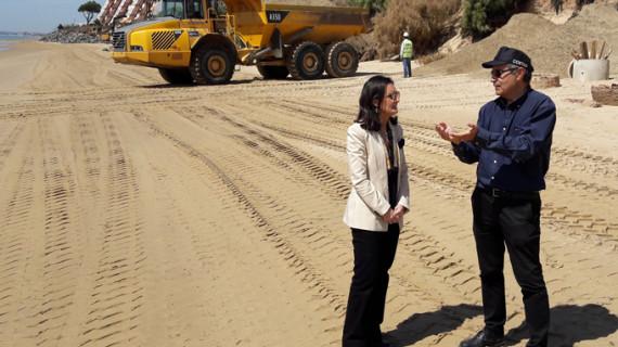 Aseguran que las playas de Huelva estarán listas para Semana Santa