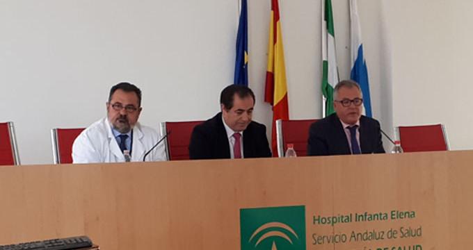 Carlos Gutiérrez, nuevo director gerente del Hospital Infanta Elena