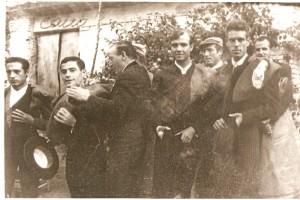 """De izquierda a derecha: """"Litri"""", P. Osuna, Villalta, """"El Zurdo"""", """"Mondeño"""", """"Blanquito""""…"""